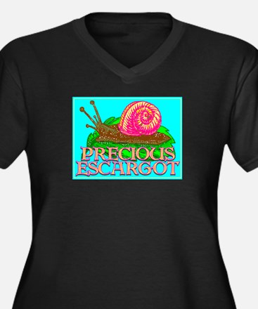 Precious Escargot by barnhartgallery - Women's Plu