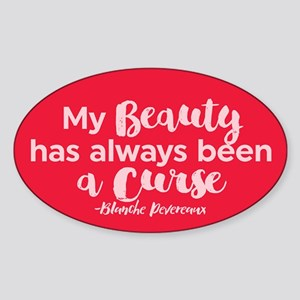GG Blanche Beauty Curse Sticker