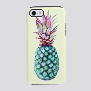 Mulit Coloured Pineapple iPhone 7 Tough Case