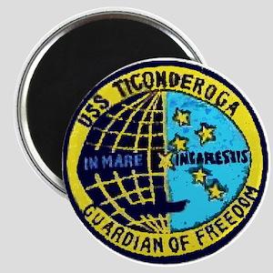 USS Ticonderoga CVA 14 Magnet