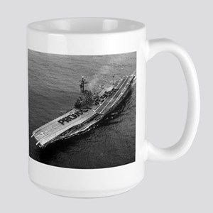 USS Ticonderoga Ship's Image Large Mug