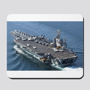 USS Theodore Roosevelt Mousepad