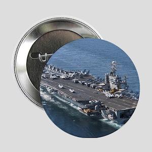 "USS Theodore Roosevelt 2.25"" Button"