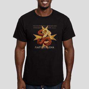 Amphisbaena Men's Fitted T-Shirt (dark)