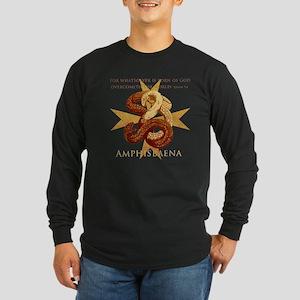 Amphisbaena Long Sleeve Dark T-Shirt
