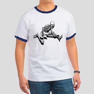 Skeleton Guitarist Jump Ringer T