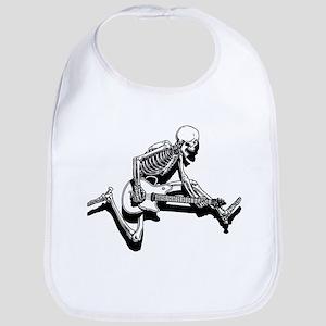 Skeleton Guitarist Jump Bib