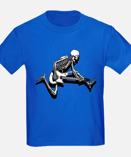Skeleton Guitarist Jump T