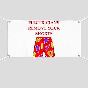 electrician joke Banner