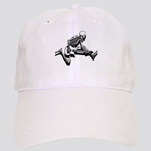 Skeleton Guitarist Jump Cap