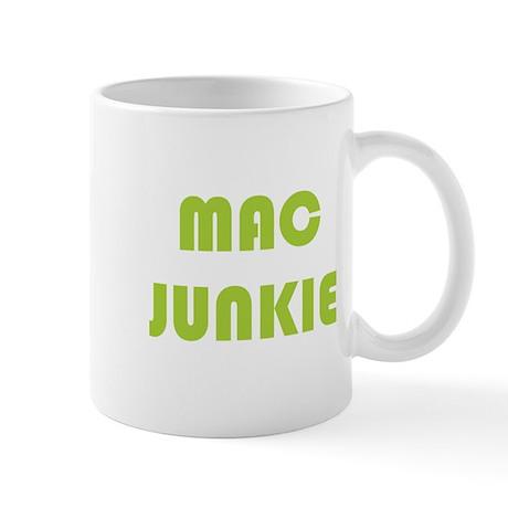 3-Mac_junkie_b Mugs