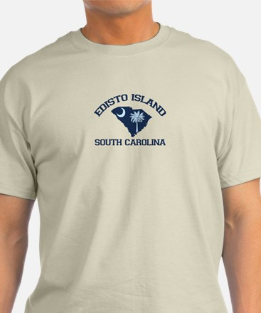 Edisto Beach - Map Design. T-Shirt