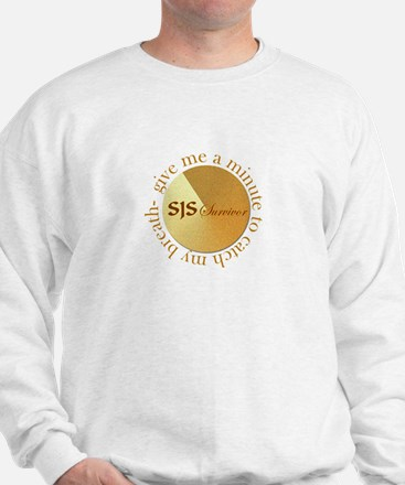 Give me a minute Gold Sweatshirt