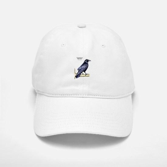 Common Raven Baseball Baseball Cap