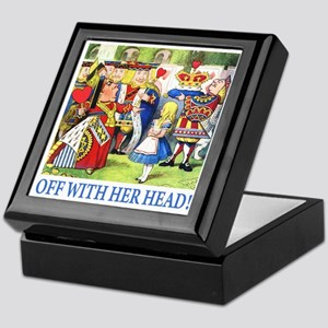 OFF WITH HER HEAD! Keepsake Box