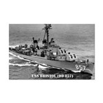USS BRISTOL Mini Poster Print