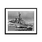 USS BRISTOL Framed Panel Print