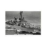USS BRISTOL Rectangle Magnet (100 pack)