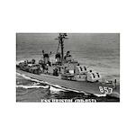 USS BRISTOL Rectangle Magnet (10 pack)