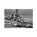 USS BRISTOL Rectangle Magnet