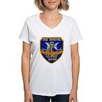 USS BRISTOL Women's V-Neck T-Shirt