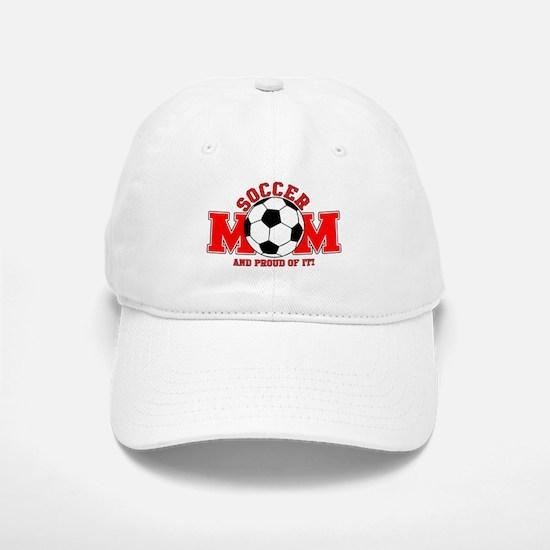 Proud Soccer Mom Baseball Baseball Cap