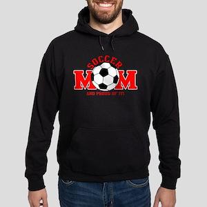Proud Soccer Mom Hoodie (dark)
