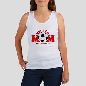 Proud Soccer Mom Women's Tank Top