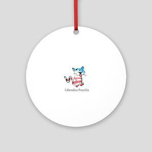 Liberalus Pussilia Ornament (Round)