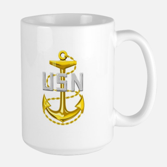 Navy Large Mug