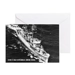 USS CALCATERRA Greeting Card