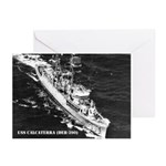 USS CALCATERRA Greeting Cards (Pk of 10)
