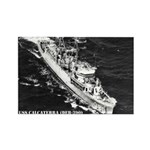 USS CALCATERRA Rectangle Magnet (100 pack)