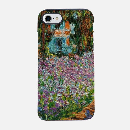 Irises In Monets Garden At Giv iPhone 7 Tough Case