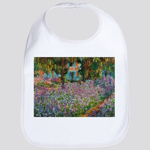 Irises In Monets Garden At Giverny Baby Bib