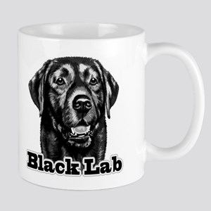 Black Lab - Monochrome Mug