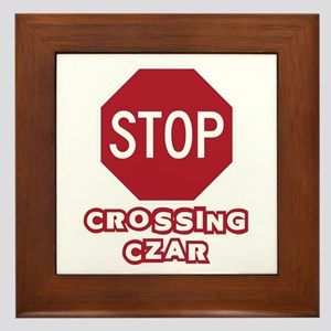 Crossing Czar Framed Tile