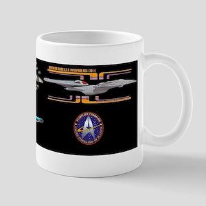 USS Enterprise NCC-1701-E Sovereign Class Mug