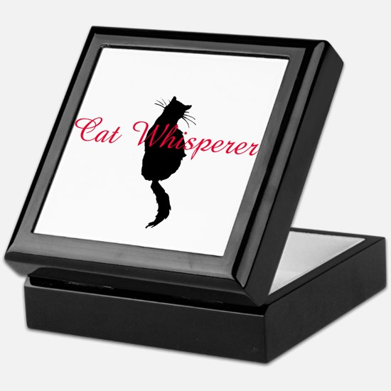 Cat Whisperer Keepsake Box