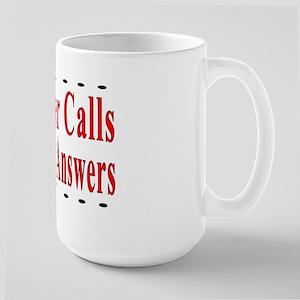 When Disaster Calls Amateur R Large Mug