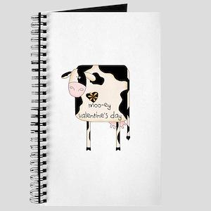 Moo-ey Valentine's Day Journal