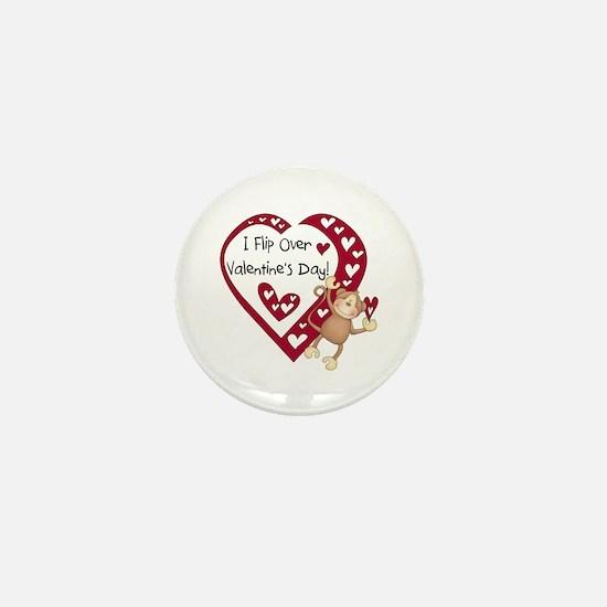 Flip Over Valentine's Day Mini Button