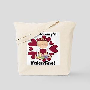Girl Mommy's Valentine Tote Bag