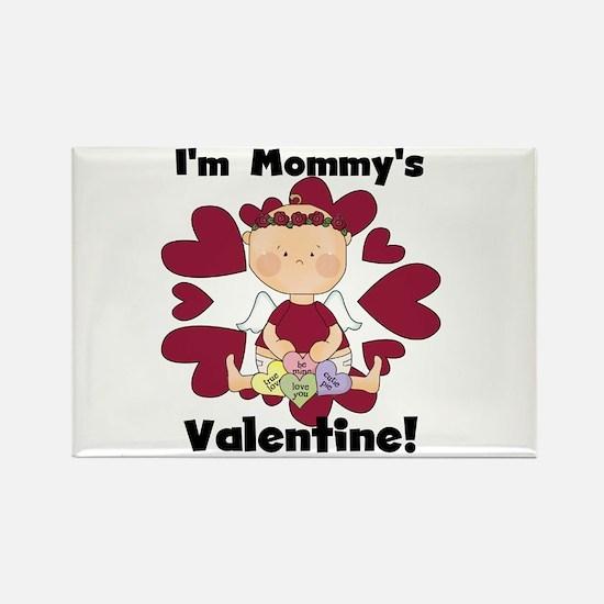 Girl Mommy's Valentine Rectangle Magnet (10 pack)