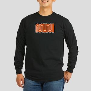 MUNI Long Sleeve Dark T-Shirt