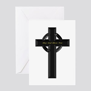 May God Bless You - Greeting Card