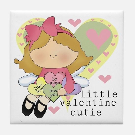 Valentine Cutie Tile Coaster