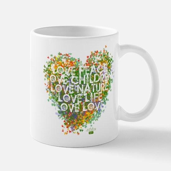 Five Things Heart Mug