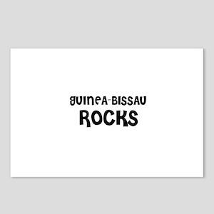 GUINEA-BISSAU ROCKS Postcards (Package of 8)