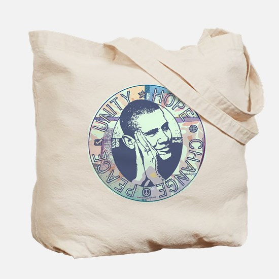 Groovy Obama Beginning Tote Bag